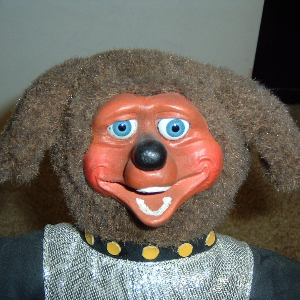 Rare prototype Duke plush doll