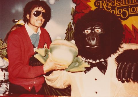 Michael Jackson visits Creative Engineering and the Rock-afire Explosion